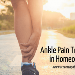 Ankle Pain Treatment in Homeopathy