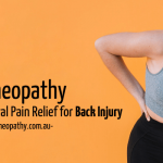 Homeopathy- A Natural Pain Relief for Back Injury
